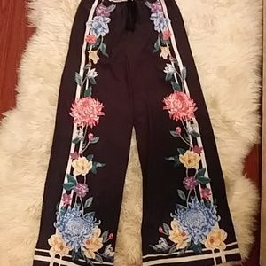2 wide leg pant